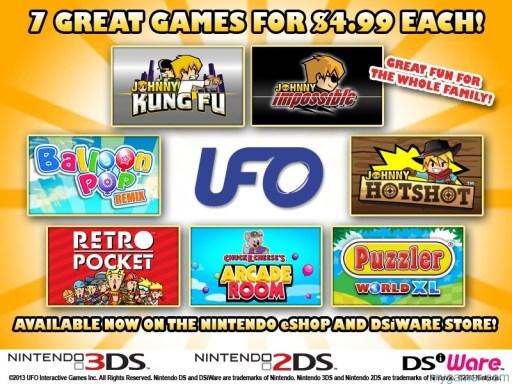 UFO Sale UFO Sale on 3DS eShop UFO Sale on 3DS eShop UFO Sale