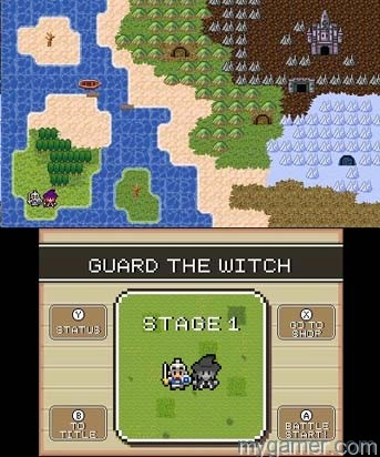 There are 20 different stages, each ending with a large boss enemy Witch & Hero 3DS eShop Review Witch & Hero 3DS eShop Review Witch and Hero Map
