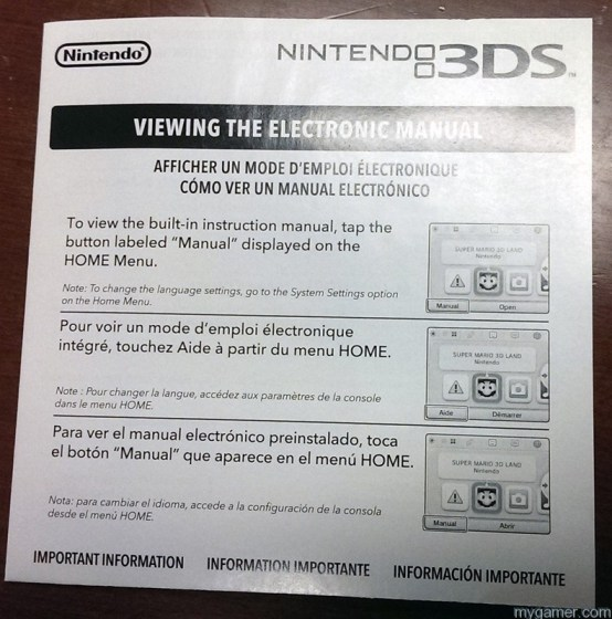 Read this to learn about how to access the e-instructions Zelda: LBW Comes With Instructions on How to View Instructions Zelda: LBW Comes With Instructions on How to View Instructions 3DS Instructions