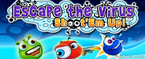 Escape the Virus Shootem Up banner