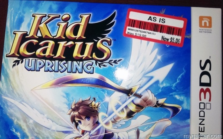 Kid Icarus Uprising on Clearance for $5.06 Kid Icarus Uprising on Clearance for $5.06 Kid Icarus PriceTag2