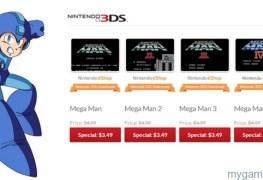 Mega Man Sale on 3DS eShop Mega Man Sale on 3DS eShop Mega Man eShop Sale