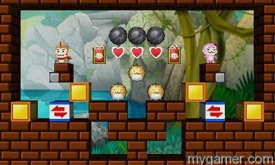 later levels get pretty tricky Banana Bliss: Jungle Puzzles 3DS eShop Review Banana Bliss: Jungle Puzzles 3DS eShop Review Banana Bliss Jungle Puzzles obstacls