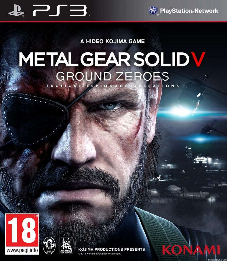 Metal Gear V: Ground Zeroes Gets Discounted for Current Gen Systems. New Details on Exclusive Side Ops. Metal Gear V: Ground Zeroes Gets Discounted for Current Gen Systems. New Details on Exclusive Side Ops. MGS V Box Art PS3