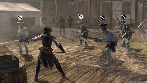 It is easy to perish in open combat Assassin's Creed Liberation HD (XBLA) Review Assassin's Creed Liberation HD (XBLA) Review Assassin Creed Liberation Combat