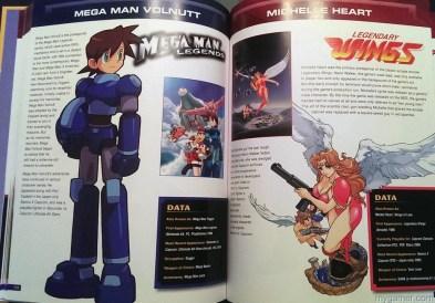 Can't get enough of Mega Man Capcom 30th Anniversary Character Encyclopedia Book Review Capcom 30th Anniversary Character Encyclopedia Book Review Capcom Char Enc MegaMan