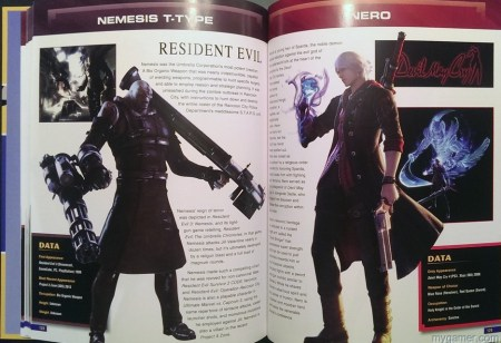 These guys might look a little familiar.  Capcom 30th Anniversary Character Encyclopedia Book Review Capcom 30th Anniversary Character Encyclopedia Book Review Capcom Char Enc Nemesis