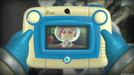 Characters talk through the game through the Gamepad
