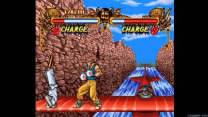 The backgrounds are pleasantly stylized Double Dragon - PSOne Import on PSN Review Double Dragon – PSOne Import on PSN Review classic double dragon monkey paw screenshot 010 1024x576