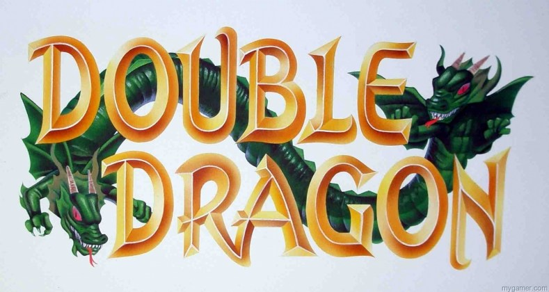 First of six old school Japanese titles to be ported to PSN First of six old school Japanese titles to be ported to PSN  double dragon logo