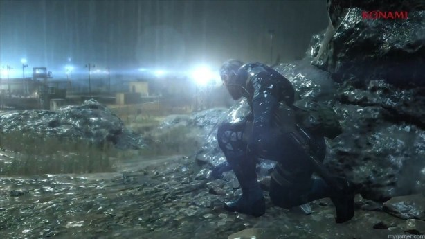 From lens flare to weather effects, the game looks great Metal Gear Solid V: Ground Zeroes Review Metal Gear Solid V: Ground Zeroes Review MGS5 Weather 1024x575