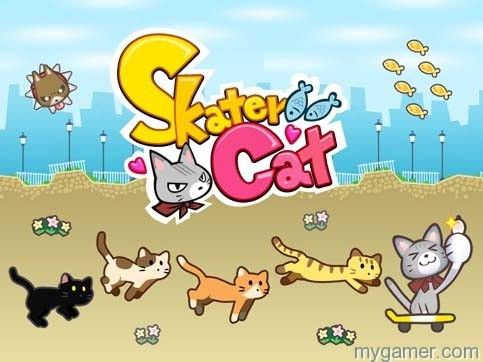 Skater Cat 3DS eShop Review Skater Cat 3DS eShop Review Skater Cat banner