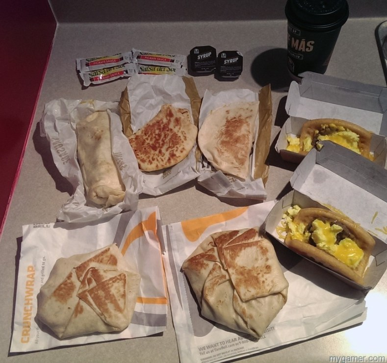 Gamer's Gullet – Taco Bell Breakfast Review Gamer's Gullet – Taco Bell Breakfast Review Unwrap All1