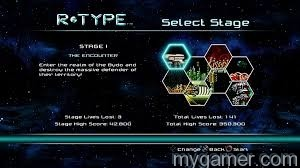 There is a stage select feature R-Type Dimensions PS3/PSN Review R-Type Dimensions PS3/PSN Review R Type stage select