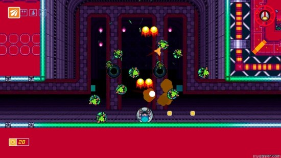 Later stages are especially challenging Scram Kitty and His Buddy on Rails Wii U eShop Review Scram Kitty and His Buddy on Rails Wii U eShop Review Scram Kitty1 1024x576