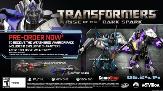 TFRotDS_GameStop_DLC Gamestop Offering Exclusive Content with Transformers: Rise of the Dark Spark Pre-Order Gamestop Offering Exclusive Content with Transformers: Rise of the Dark Spark Pre-Order TFRotDS GameStop DLC 1024x576
