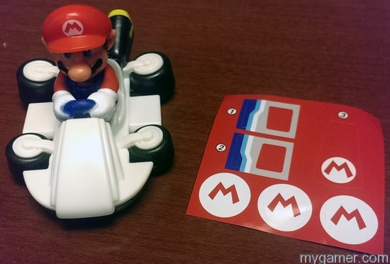 Put the stickers on yourself Mario Kart 8 Happy Meal Toys Mario Kart 8 Happy Meal Toys Mario Kart 8 Happy Meal Mario No Sticker
