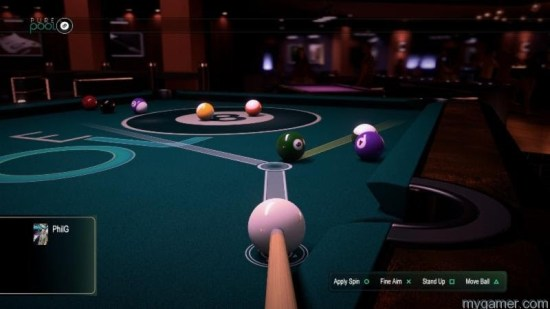 Pure Pool Pure Pool cued for PS4 and Steam Pure Pool cued for PS4 and Steam Pure Pool