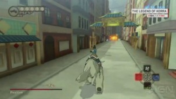 The Legend of Korra Game play