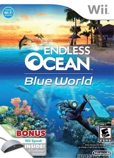 Endless Ocean Blue World WIi