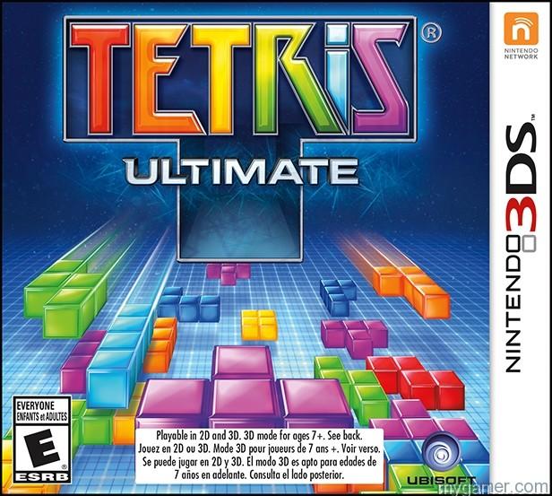 Tetris Ultimate Puzzling 3DS in November Tetris Ultimate Puzzling 3DS in November Tetris Ultimate 3DS Box