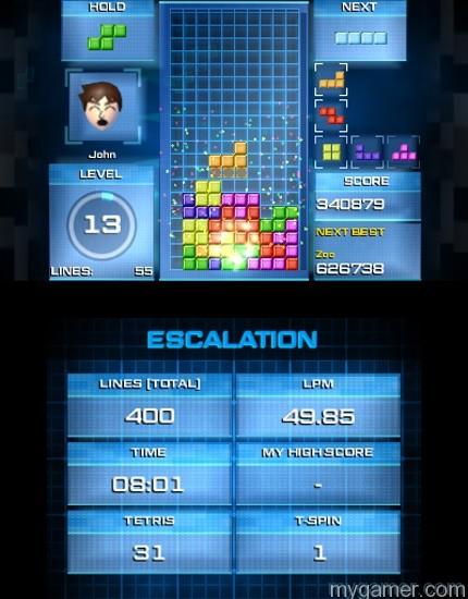 Tetris Ultimate 3DS Challenge Mode