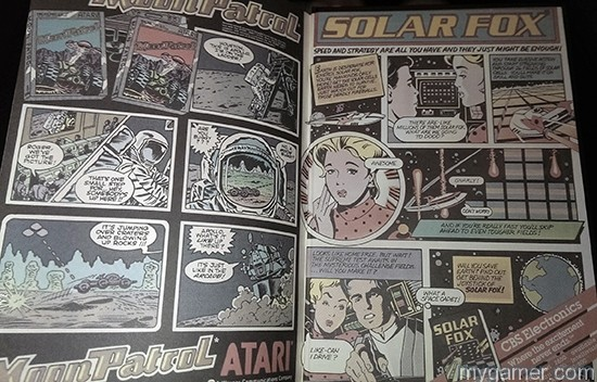 There is even a 2-page spread comic on the inside covers The 100 Greatest Console Video Games 1977-1987 Book Review The 100 Greatest Console Video Games 1977-1987 Book Review Top 100 Console 77 87 Comic