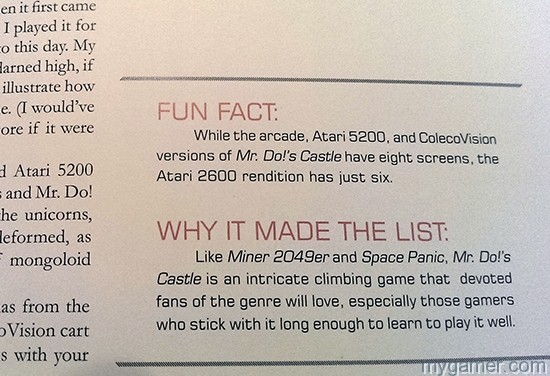 The Fun Fact section is a nice touch The 100 Greatest Console Video Games 1977-1987 Book Review The 100 Greatest Console Video Games 1977-1987 Book Review Top 100 Console 77 87 Fact
