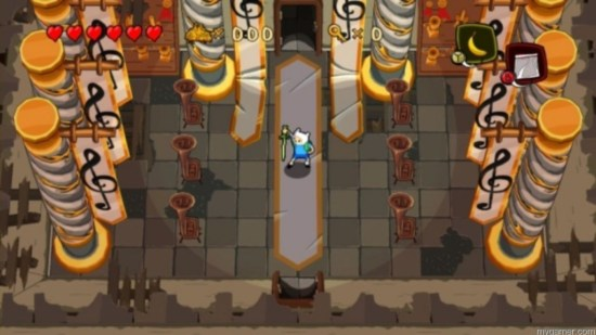 This looks a little familiar  Adventure Time: Secret of the Nameless Kingdom 3DS Review Adventure Time: Secret of the Nameless Kingdom 3DS Review Adventure Time Secret dungeon 1024x576