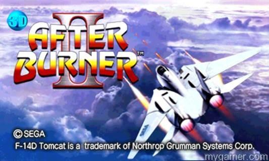 Sega Bringing More Classic Arcade Titles to 3DS in 3D Sega Bringing More Classic Arcade Titles to 3DS in 3D After Burner II