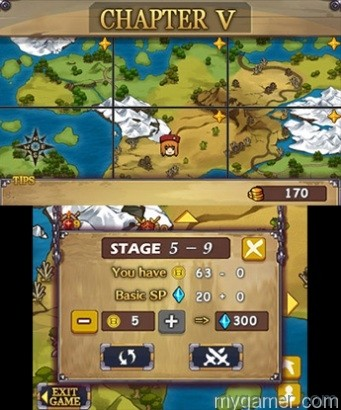 The EX in the title means it is an upgrade from the DSiWare version Castle Conqueror EX 3DS eShop Review Castle Conqueror EX 3DS eShop Review Castle Conqueror Chapters