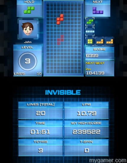 Invisible mode provides a new challenge