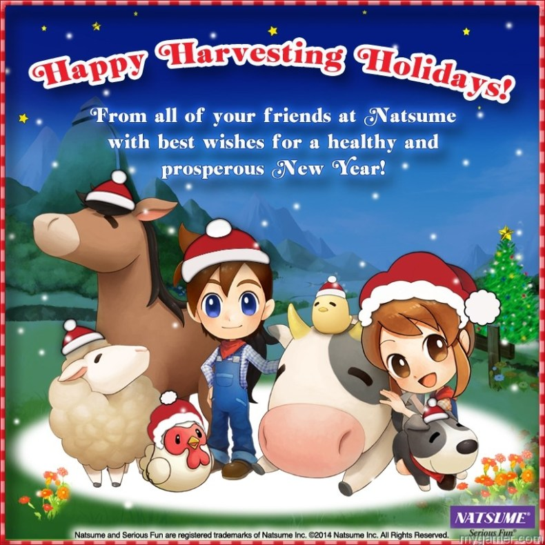 Wishing You Happy Holidays and Prosperous New Year Wishing You Happy Holidays and Prosperous New Year Natsume Holiday Card