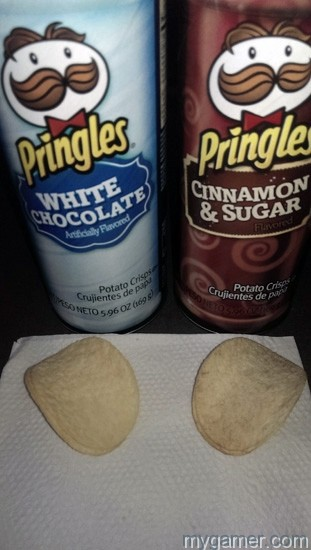 Pringles Holiday close Gamer's Gullet – Pringles Holiday White Chocolate and Cinnamon & Sugar Flavors Review Gamer's Gullet – Pringles Holiday White Chocolate and Cinnamon & Sugar Flavors Review Pringles Holiday close