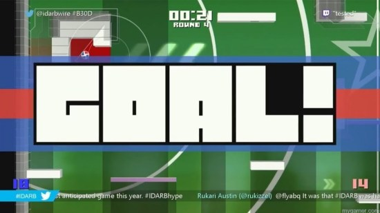 Even the GOAL! screen is humorous #IDARB Xbox One Review #IDARB Xbox One Review IDARB Goal 1024x576