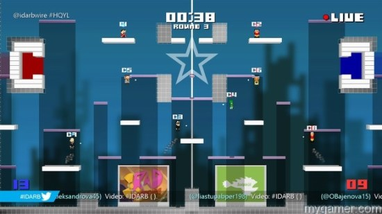 It is plaforming mixed with air hockey and basketball #IDARB Xbox One Review #IDARB Xbox One Review IDARB Arena thumb 620x348 85453