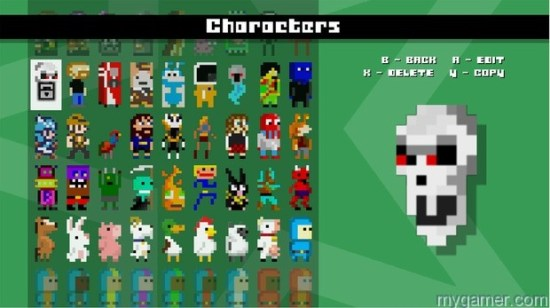 Don't like the different characters? Make your own. #IDARB Xbox One Review #IDARB Xbox One Review IDARB Characters thumb 620x347 85461