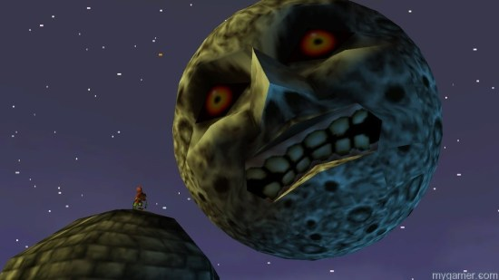 The Moon is basically the final boss that is always watching you.