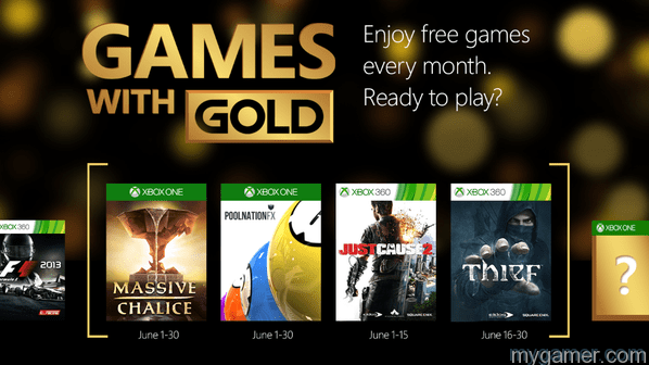 Games for Gold Xbox June 2015
