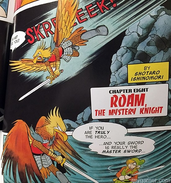 Remember Roam, the bird-knight from the game? Of course you don't because he wasn't in the game. The Legend of Zelda: A Link To the Past Graphic Novel Review The Legend of Zelda: A Link To the Past Graphic Novel Review Zelda Comic Novel Roam2