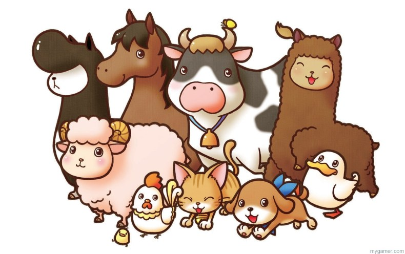 Harvest Moon Coming to PC, Wii U, and Mobile Harvest Moon Coming to PC, Wii U, and Mobile harvest moon animals
