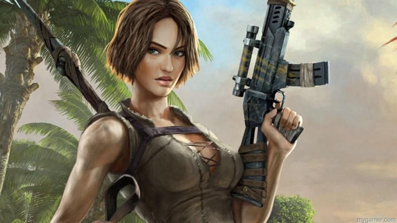 ARK Survival Evolved girl