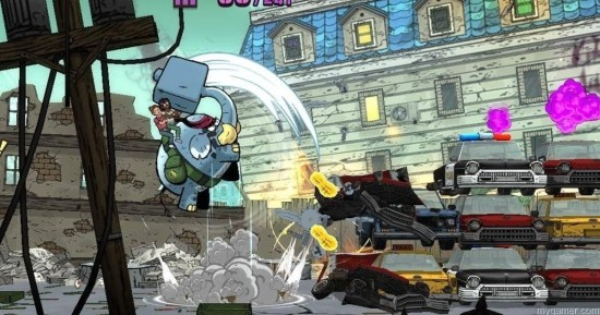 With dash attacks, Tembo sort of makes you think of Sonic... tembo the badass elephant (xbox one) review Tembo The Badass Elephant (Xbox One) Review Tembo elephant attack
