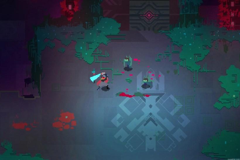 Gameplay in Hyper Light Drifter