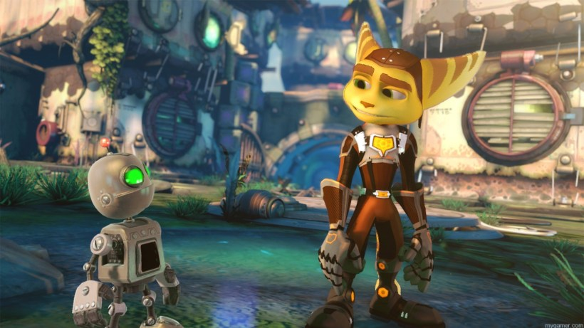 Graphics in Ratchet & Clank for PS4
