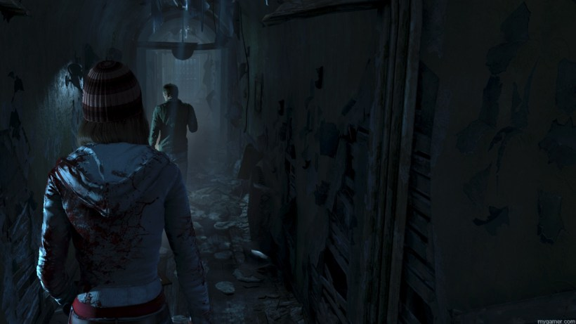 Surviving in Until Dawn  Until Dawn Preview Until Dawn Preview Screenshot from Until Dawn