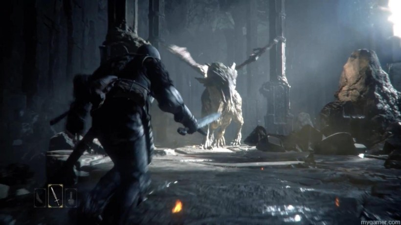 Co-op Gameplay in PS4's Deep Down
