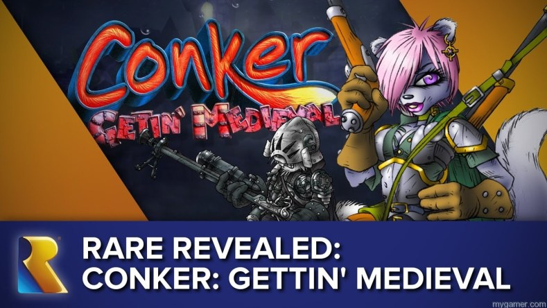 Did You Know There Was Supposed to be an Original Conker Game After Live And Reloaded? Did You Know There Was Supposed to be an Original Conker Game After Live And Reloaded? COnker Getin Medieval