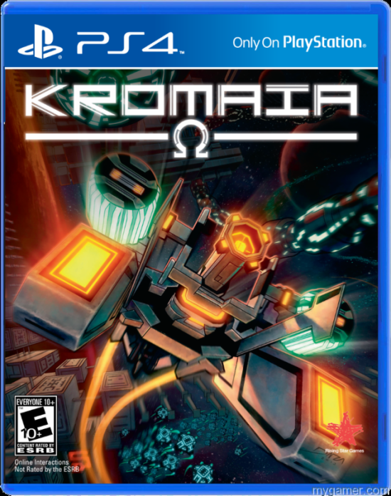 Kromaia Box Physical Version of Kromaia Coming to PS4 Physical Version of Kromaia Coming to PS4 Kromaia Box
