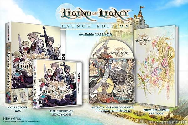 Lenend of Legacy box set